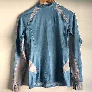 Under Armour ColdGear mock neck shirt size medium